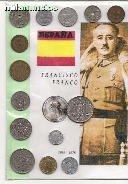 España, Monedas Época De Franco