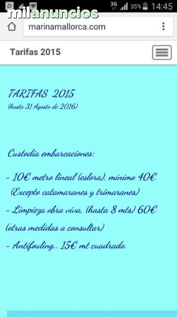 MARINA SECA MALLORCA 24 HORAS
