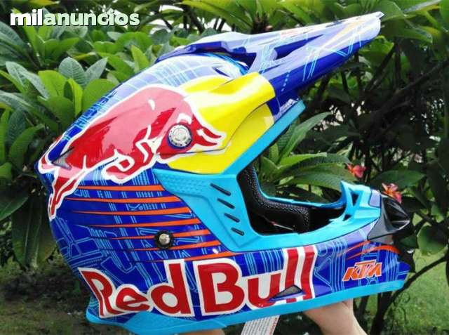 CASCO CROSS RED BULL KTM ENVÍO GRATIS