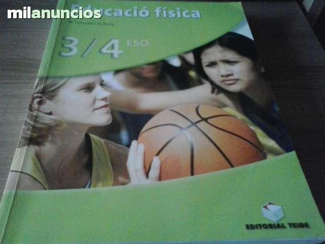 LIBRO EDUCACION FÍSICA 3 4 ESO