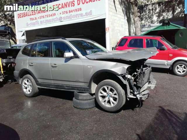 DESPIECE COMPLETO BMW X3