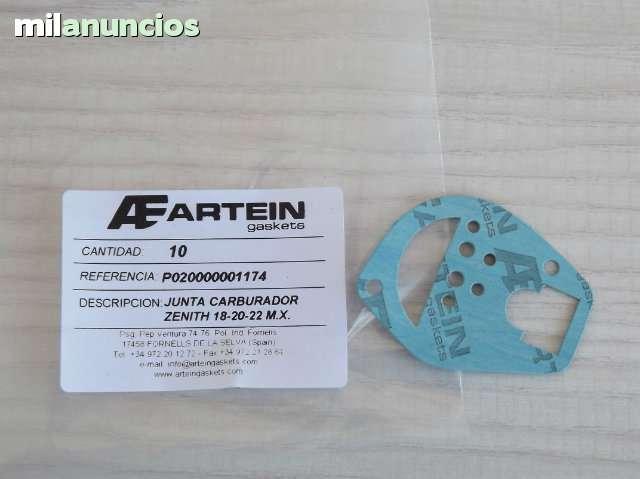 JUNTAS CARBURADOR ZENITH 18 - 20 - 22 MX - foto 1