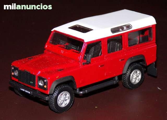Land Rover Defender Largo Escala 1:43 De