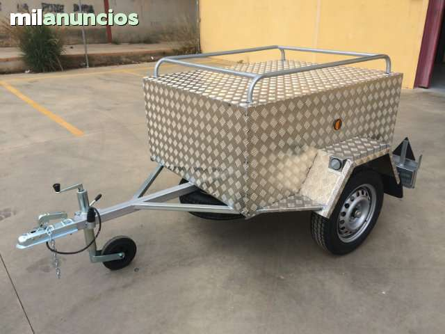 --OFERTA REMOLQUE PERROS ALUMINIO 550 --