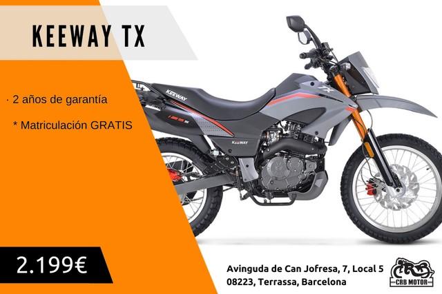 KEEWAY - TX 125 S EURO 4
