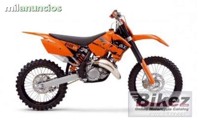 DESPIECE COMPLETO DE KTM 125 SX 2006