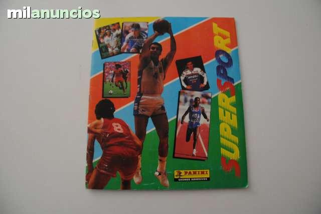 ÁLBUM D CROMOS SUPERSPORT 1988-89 PANINI