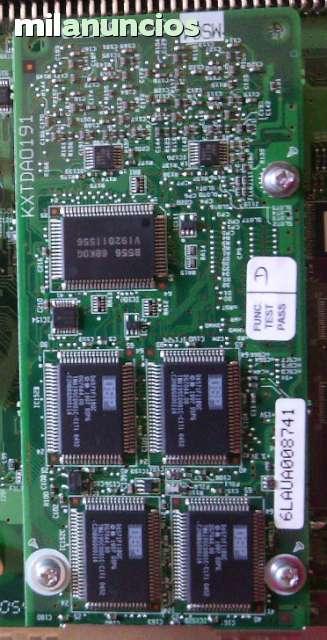 TARJETA PANASONIC KX-TDA0191 MSG4 - foto 1