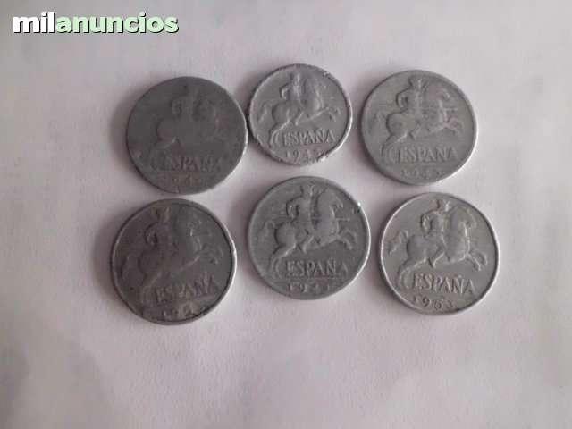 Vendo.- 6 Monedas De 5 Y 10 Ctmos