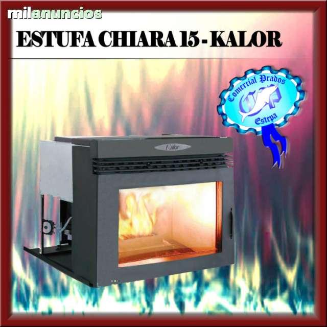 ESTUFA INSERTABLE CHIARA 15 - KALOR