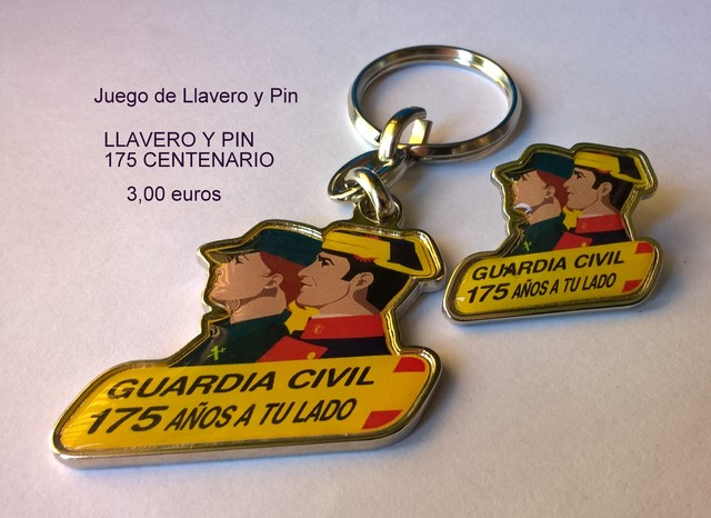 Guardia Civil Llaveros Y Pin
