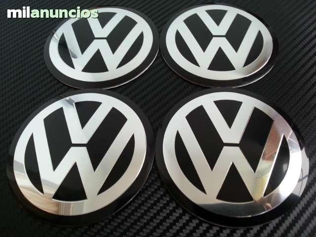 EMBLEMA PEGATINA DE METAL VW 65MM LLANTA
