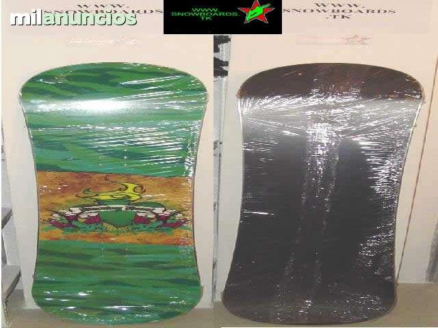 TABLAS DE SNOWBOARD MODELOS BLACK FIRE segunda mano