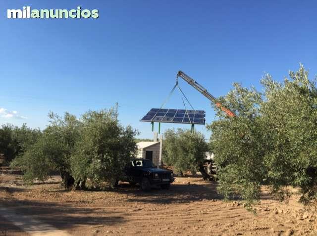 BOMBAS DE RIEGO CON PANELES SOLARES - foto 3