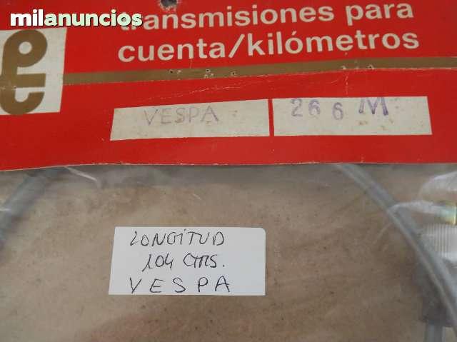 VESPA AÑOS 1950-1960 - CABLE KM 1040 M/M - foto 3