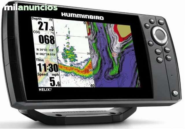 GPS PLOTTER SONDA HUMMINBIRD HELIX 7 G2