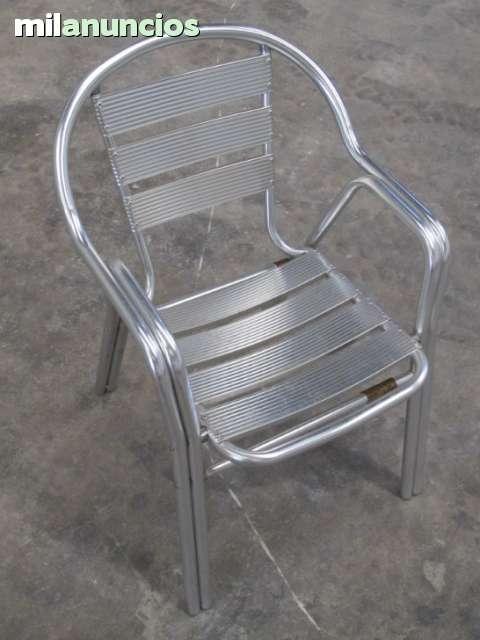sillas terraza aluminio milanuncios