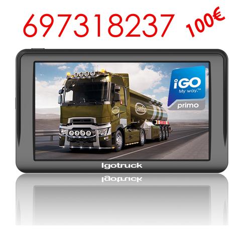 etc. Camiones caravanas autobuses Camiones Navegador GPS de 9 Pulgadas para Camiones