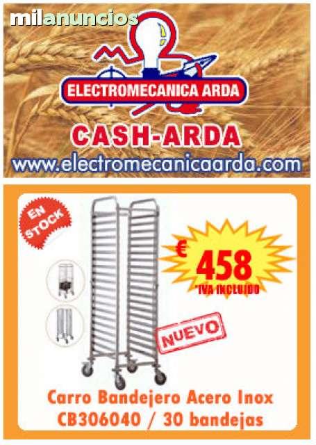 CARRO 30 BANDEJAS 60X40!! CASH-ARDA!! - foto 1