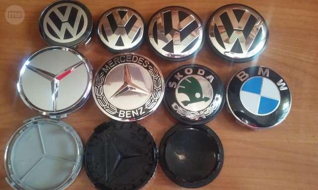 EMBLEMAS LOGOS INSIGNIAS VW BMW MERCEDES