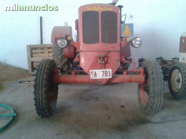 TRACTOR SCHLUTER AS 45