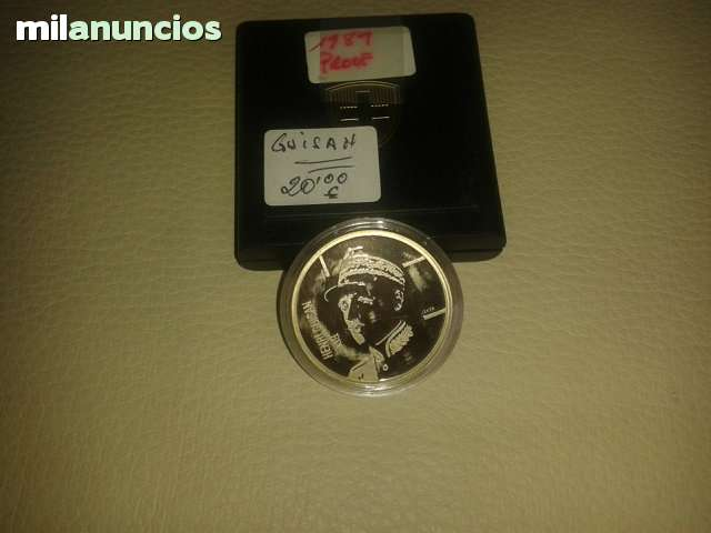 5 Francos Suiza 1989**Froof**
