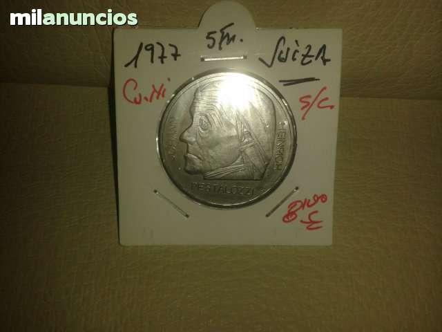 5 Francos De Suiza *+1977**