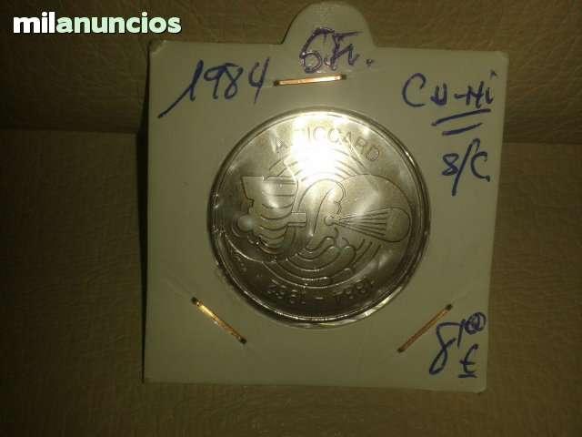 5 Francos De Suiza *+1984**