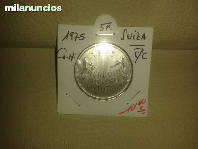 5 Francos De Suiza De *+1975**