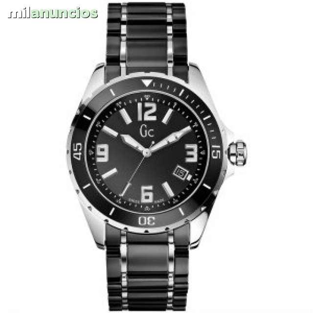 X85008g2s Acero Guess Reloj Piuzoxtwk Caballero Gc 5Aj3RL4