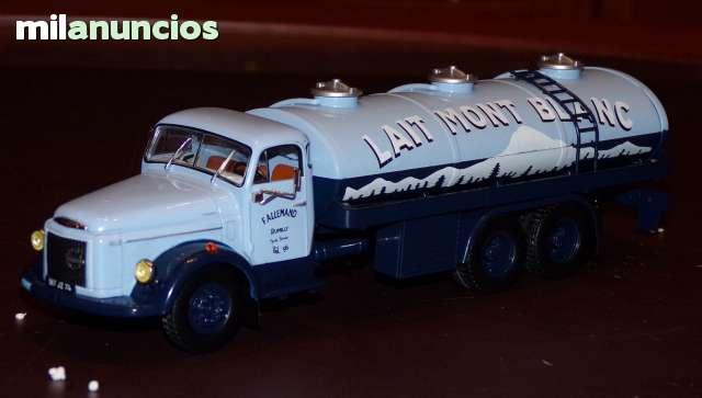 Camion Volvo Cisterna Recogida De Leche