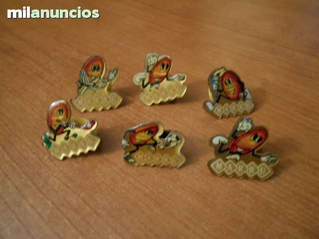 PINS DEPORTES GALLETAS MARBÚ