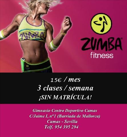 CLASES DE ZUMBA EN CAMAS (SEVILLA)