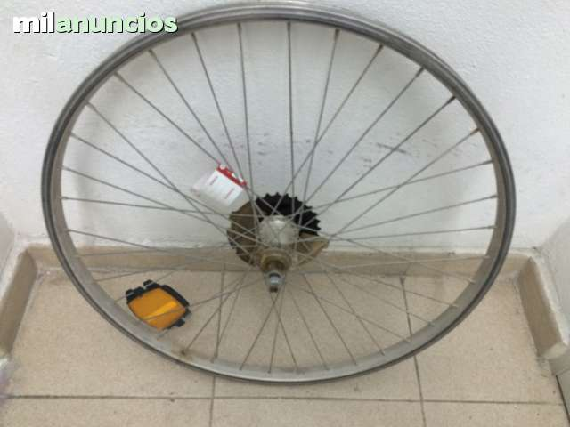 Rueda Delantera Bicicleta; Aluminio 21