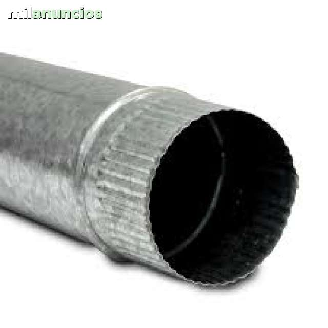 CHIMENEA MODULAR SIMPLE PARED GALVANIZAD