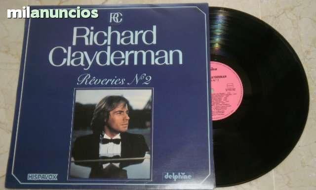 LP RÊVERIES N 2 RICHARD CLAYDERMAN