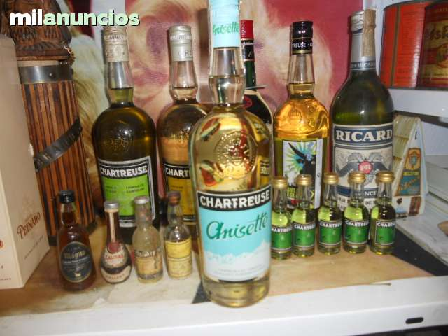 Busco Chartreuse Calisay Whsiky Brandy