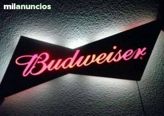 VENDO ANTIGUO CARTEL LUMINOSO BUDWEISER