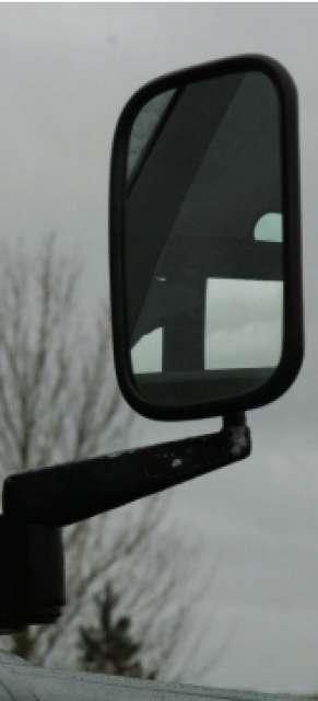 Land Rover Defender Espejo Puerta Espejo Montaje Completo-Par-Nuevo Espejos