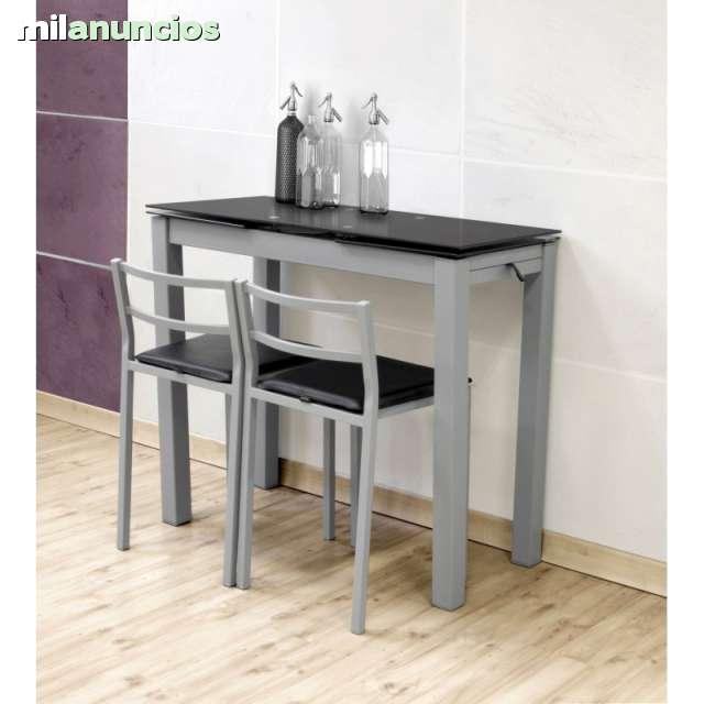 conjuntos de mesas y sillas para cocina