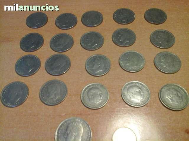 20 Monedas De 5 Pesetas