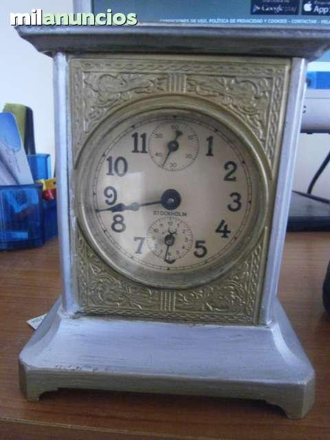 Reloj Antiguo Sobremesa Stockholm