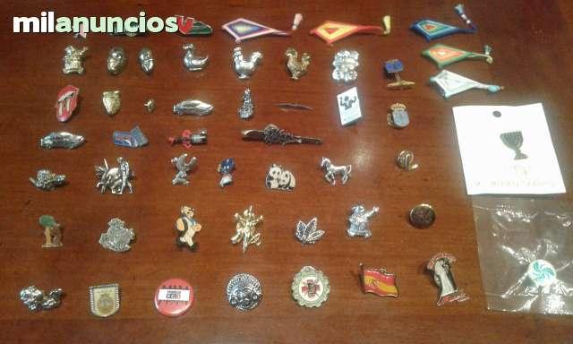 COLECCION DE PINS E INSIGNIAS - foto 2