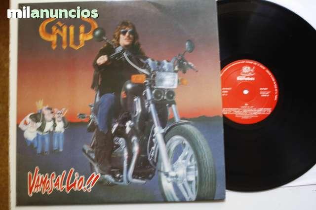 Compro Discos De Vinilo Heavy-Pop-Rock