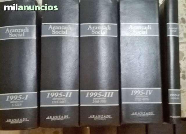 ARANZADI SOCIAL JURISPRUDENCIA 1995 - foto 1