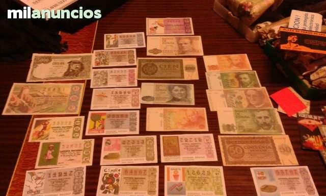 Colección Sellos Y Billetes