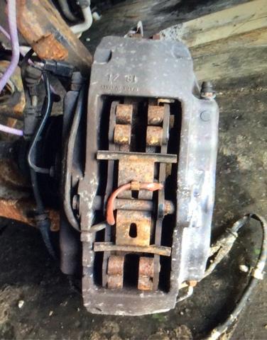 VW Touareg 03-10 2 Olla Brembo BCK4419AX2 Pinza de freno trasero kits de reparación se adapta a