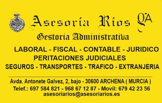 * * *  ASESORÍA GESTORÍA RÍOS ARCHENA * * *  - foto 1