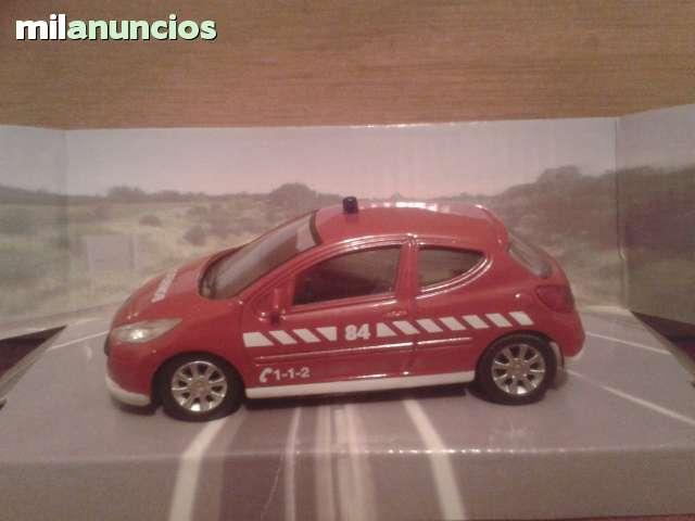 Coche De Bomberos Peugeot 207 Esc 1:43