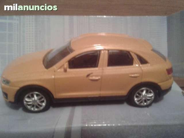 Coche Audi Q3 Mostaza Esc 1:43